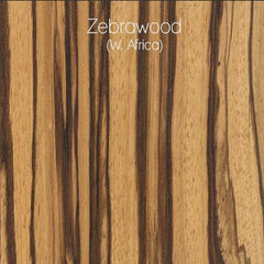 Zebrawood Wood Swatch from LVX Supply & Co.