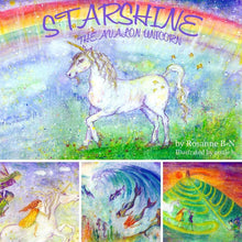 "Load image into Gallery viewer, ""STARSHINE THE AVALON UNICORN"" Children's Story"