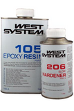 1.2 kg Epoxy West System: Slow