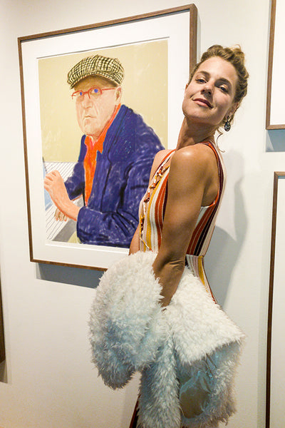 Lauren Peggy Doyle, David Hockney