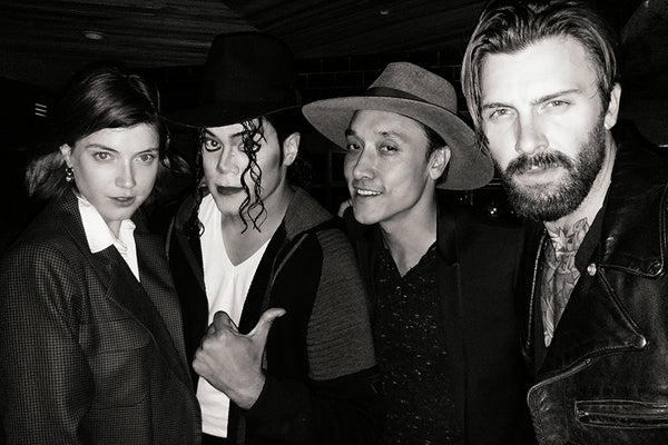 Kiesten Dolbec, Michael Jackson, Johnny Houston, Levi Stocke