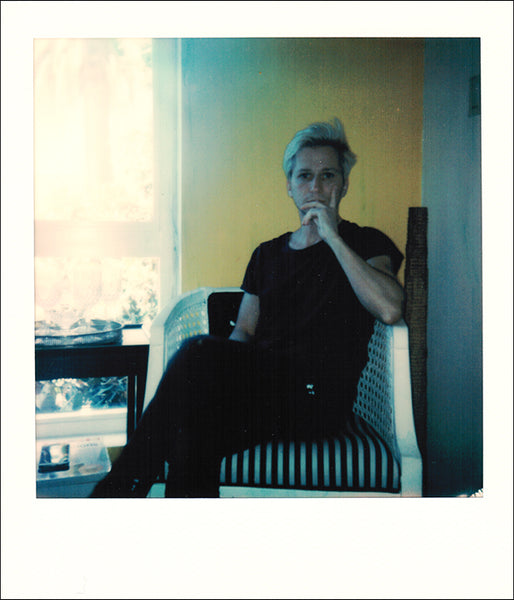 Ty Joseph Self Portrait Polaroid