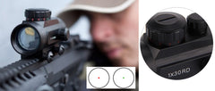 Holographic Rifle Scope Dot Sight With 20mm Rail Mount