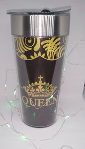 """ Queen Travel mug w/ Lindt Chocolate"