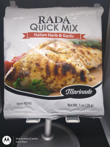 Italian Herb & Garlic Marinade