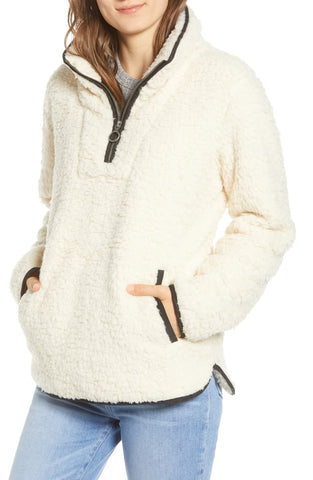 Wubby Fleece Pullover by Thread and Supply