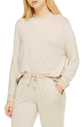 Super Soft Sweatshirt and Pants by Topshop