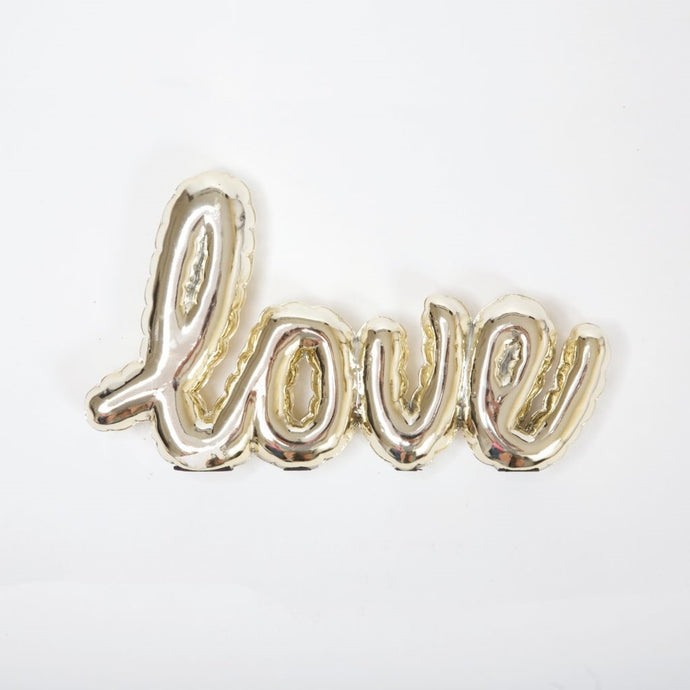 Balloon Shelf Talker - LOVE