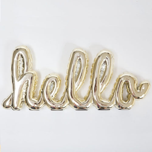 Balloon Shelf Talker - HELLO