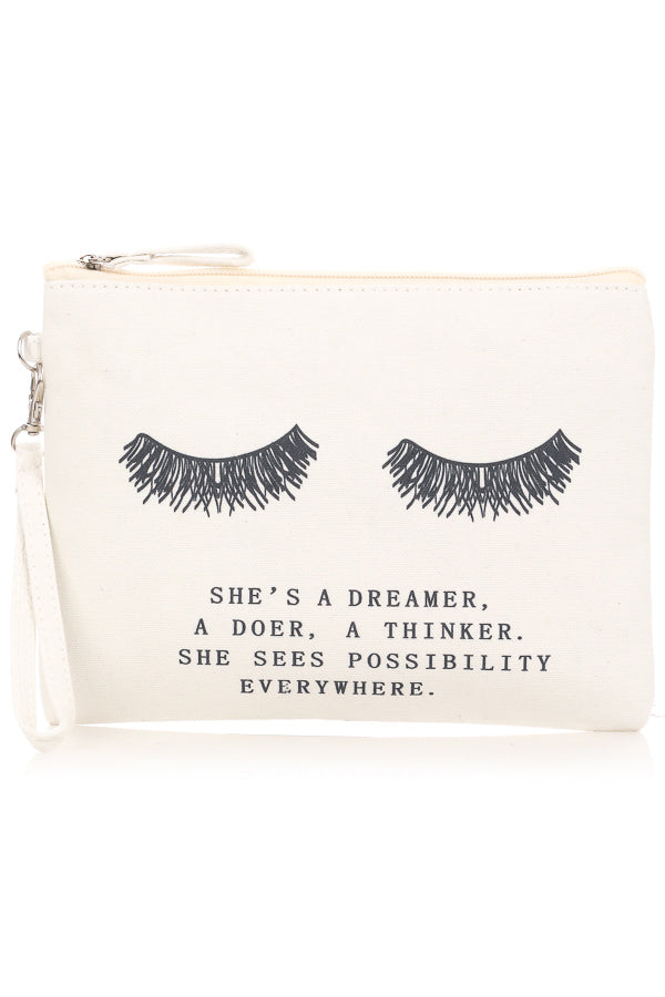 She's a Dreamer Makeup Bag