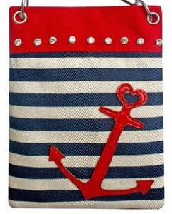 Chic Bags - Anchor Red