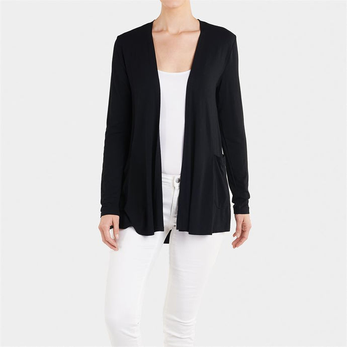 Coco and Carmen Soft Everyday Black Cardigan