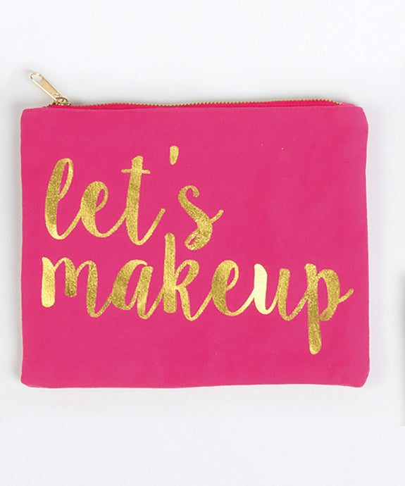 Makeup Bag - Let's Makeup