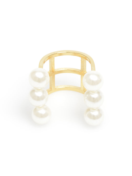 Floating Pearls Ring