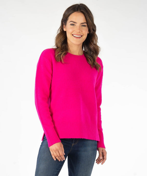 Alisha Pull Over Sweater in Hot Pink by Kut - ONLY XL AVAILABLE