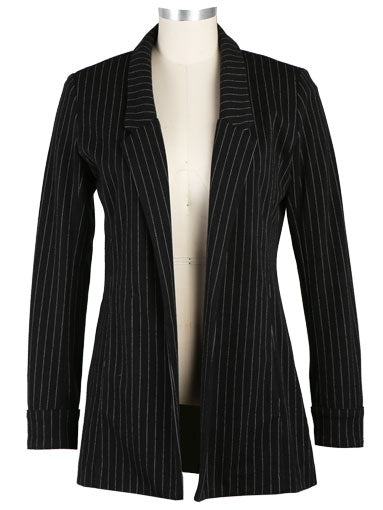 Babette Knit Striped Blazer by Kut from the Kloth - ONLY XS AVAILABLE