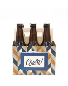 Craft Carrier - Cheers plus Bottle Opener and Card