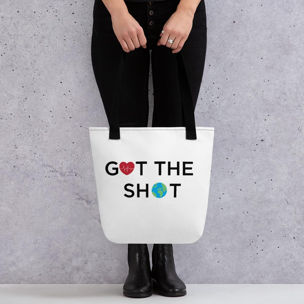 GOT THE SHOT Tote bag-Threadcessories - Got The Shot - Shirts, Tees, Hats, Hoodies