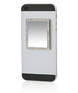 Phone Mirror RECTANGLE  in Silver