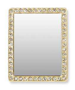 Phone Mirror RECTANGLE  in Gold