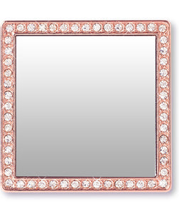 Phone Mirror SQUARE  in Rose Gold