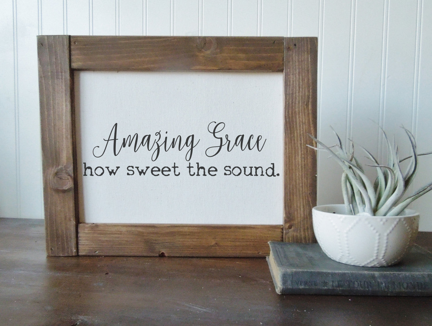 Amazing grace/easter print/canvas print/framed art/home decor/wall art