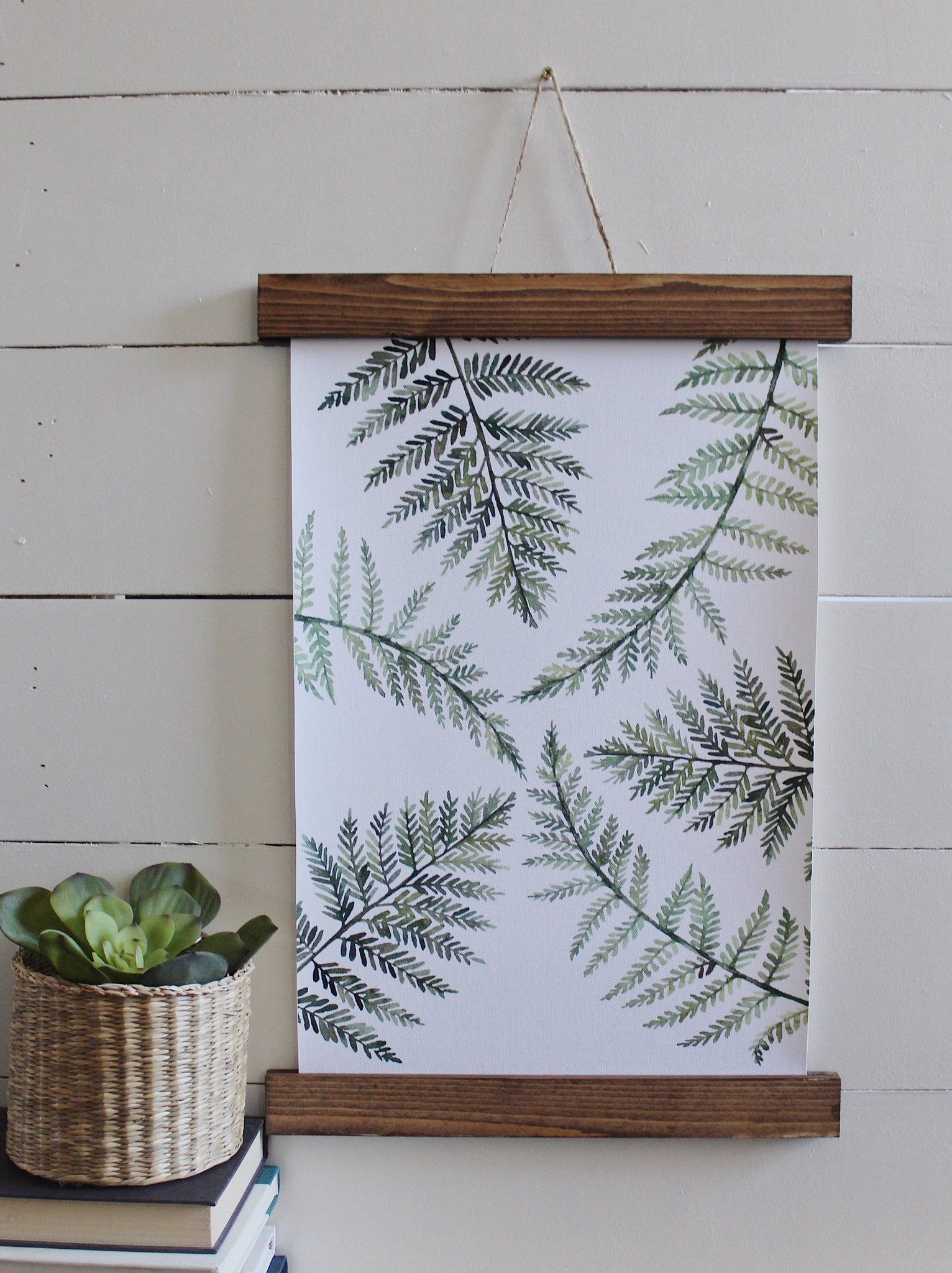Fern canvas prints/fern art print/botanical wall art/canvas art print/wall art/home decor