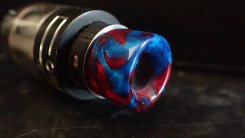 510 Red/Blue Drip Tip
