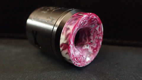 810 Pink/White/Black Wide Driptip