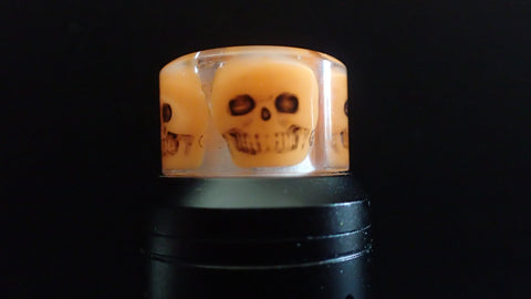 810 Orange Skull Driptip