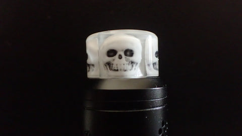 810 White Skull Driptip
