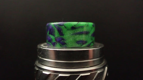810 (O'Ring) Purple/Green Driptip