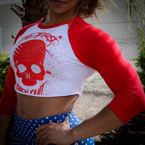 Women's Die First Then Quit Reglan Crop