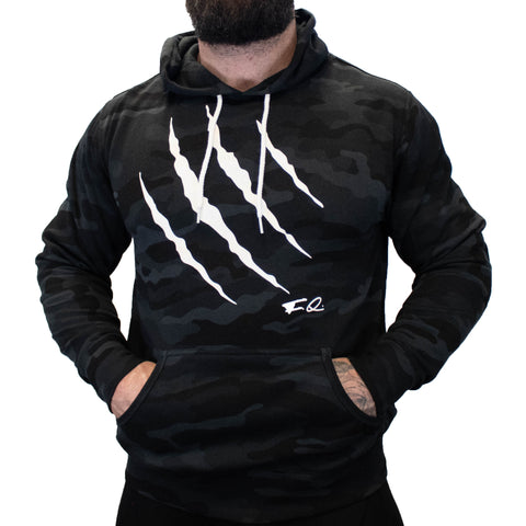 Claw BLK Camo Hoodie