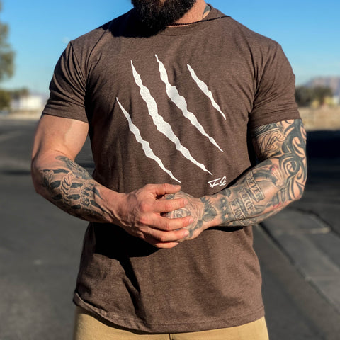 Men's Claw Tee BROWN