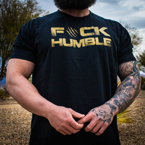 Men's F#CK HUMBLE 2.0 Tee (BLACK)