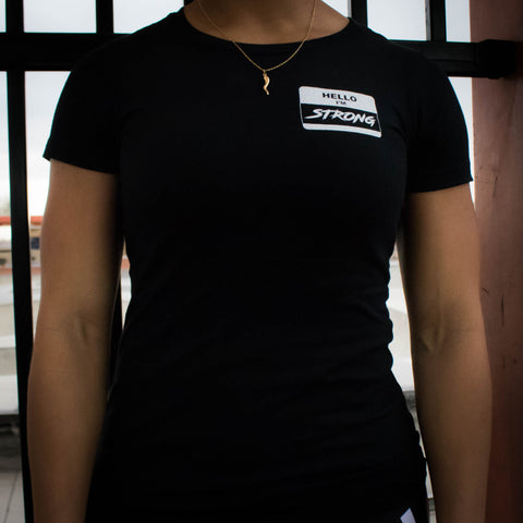 Women's Name Tag Tee