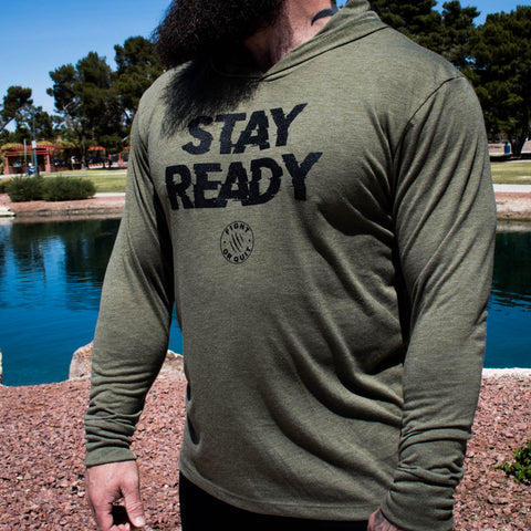 Unisex Stay Ready Training Hoodie