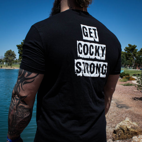 Women's Get Cocky Strong Tee