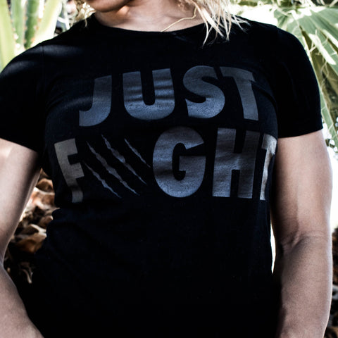 Women's Just Fight Tee