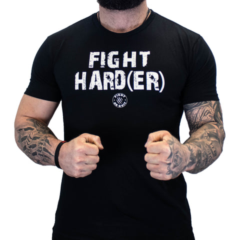 Men's Fight Harder Tee