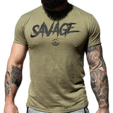 Men's Savage Tee (Multiple Colors Available)