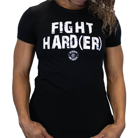 Women's Fight Harder Tee
