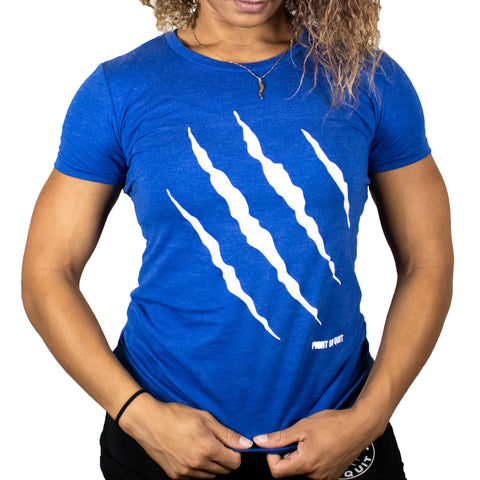 Women's Blue Claw Tee