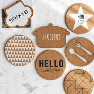 Wood Decorative Drink Coaster