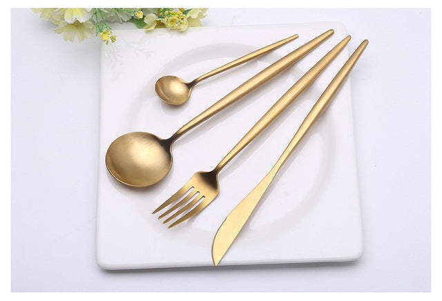 Solid Gold/Silver Flatware
