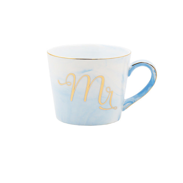 Freson Color Marble Mugs