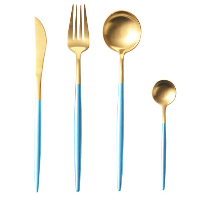 Luxury Pastel Blue Flatware