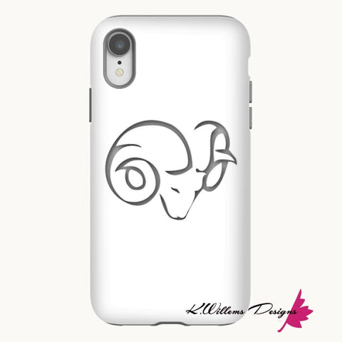 Image of Aries Phone Case - iPhone XR / Premium Glossy Tough Case