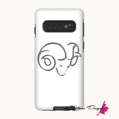 Image of Aries Phone Case - Samsung Galaxy S10 / Premium Glossy Tough Case